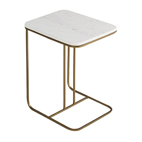 Amazon.com: Tables Small Coffee Marble Side Bedroom Creative ...