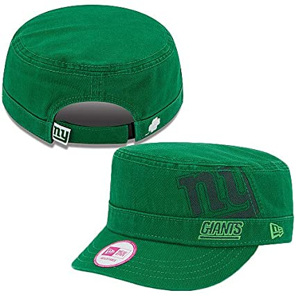 7bc35bc83b2 Image Unavailable. Image not available for. Color  Women s New Era New York  Giants St. Patrick s Day Military Hat Adjustable