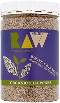 Raw Health Organic White Chia Seeds 450 G: Amazon.es: Electrónica