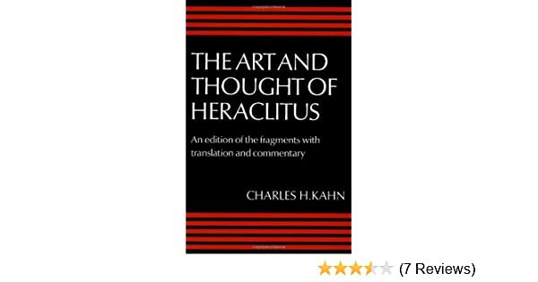 ART AND THOUGHT OF HERACLITUS EPUB