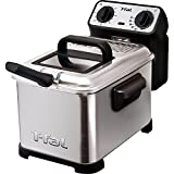 T-Fal Deep Fryer Metal 1600 W 2.6 Lb. Brushed Stainless Steel