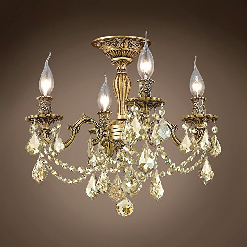 (Joshua Marshal 701585-031 - Traditional Versailles 4 Light 17