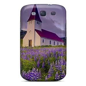 New Fashion Premium Tpu Case Cover For Galaxy S3 - Prairie Church