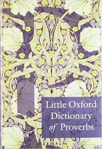 Little Oxford Dictionary of Proverbs price comparison at Flipkart, Amazon, Crossword, Uread, Bookadda, Landmark, Homeshop18