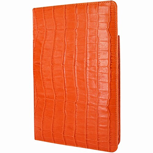 Piel Frama Cinema Leather Case for Apple iPad Mini 4, Crocodile Orange (722CON)