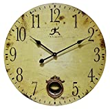 24 Inch Large Rustic Pendulum Wall Clock, Cottage Grove by Infinity Instruments Review