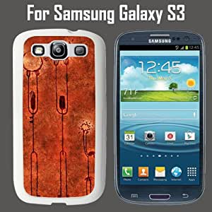 Sun and Moon Custom Case/ Cover/Skin *NEW* Case for Samsung Galaxy S3 - White - Rubber Case (Ships from CA) Custom Protective Case , Design Case-ATT Verizon T-mobile Sprint ,Friendly Packaging - Slim Case