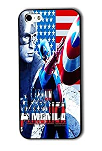 Tomhousomick Custom Design The Avengers Spider-Man Captain America The Hulk Thor Ant-Man Black Widow Iron Man Case Cover For iPhone 5C 2015 Hot Fashion Style