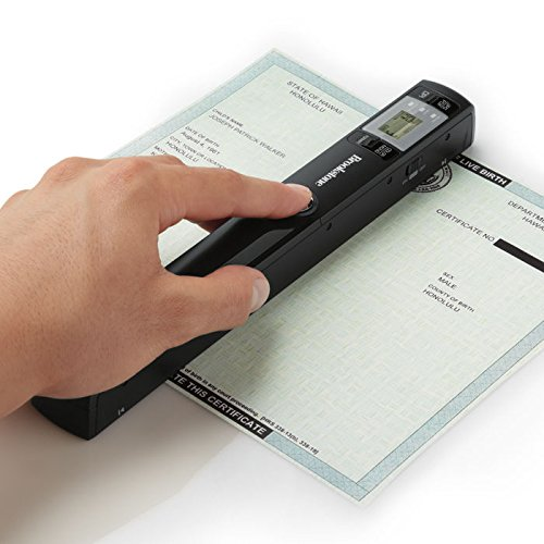 Wi-Fi Scanner Wand: Portable Document and Photo Scanner by Brookstone