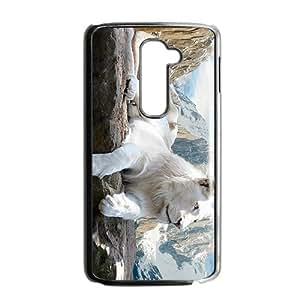 Lie Down Lion Custom Protective Hard Phone Cae For LG G2