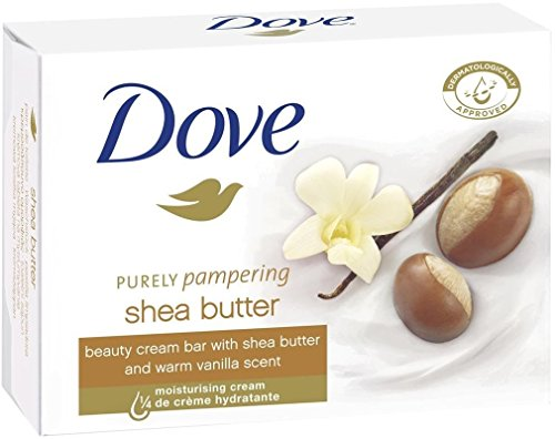 Price comparison product image Dove Purely Pampering Shea Butter Beauty Bar with Vanilla Scent Soap 3.5 Oz / 100 Gr (Pack of 12 Bars)