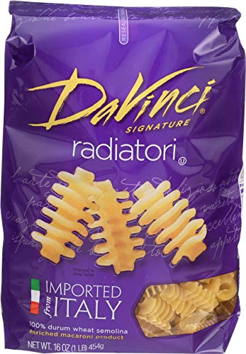 DaVinci Radiatori, 16-ounces (Pack of12) (Da Vinci Pasta)