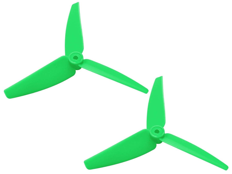 - Blade 200SRX//S 230 S//V2 250 CFX Green 2 Rakonheli 82mm 3-Blade PC Tail Blade