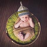 Sunmig Newborn Baby Photo Wheat Donut Posing Pillow
