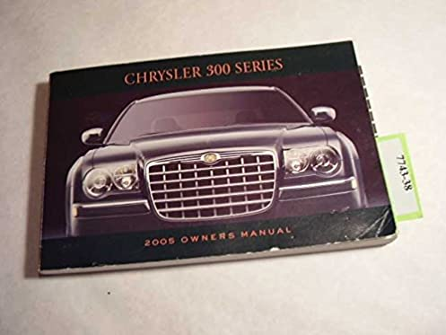 Chrysler 300 ebooks user manuals guide user manuals dodge charger repair manual 2005 chrysler 300 owners manual chrysler amazon com books rh amazon fandeluxe Image collections