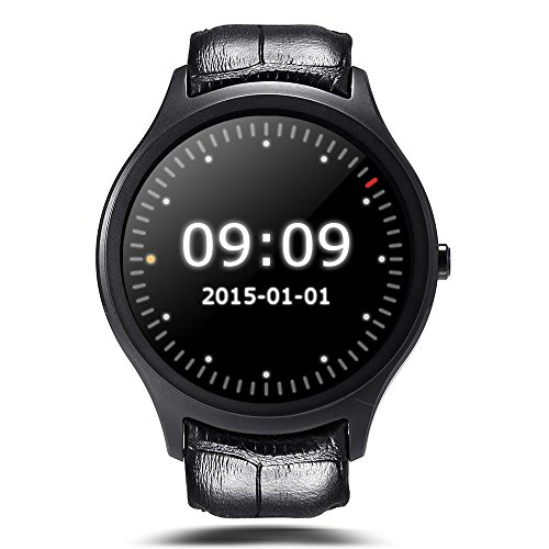 Finow X1 Smart Watch Men Android 4.4 3G WIFI GPS Bluetooth Watch Clock NO.1 D5 Smartwatch PK KW88 KW18 I3 DM368 watch black