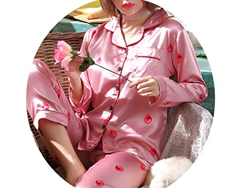 Sexy Lunghe Ghiaccio Pigiama Pezzi Shy Seta Primavera A Da pigiama Autunno B Moda Domicilio Di E Servizio Donna Donna Sciolto Maniche Due Abito 7vdgqUnxwv