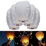 10 Pack of The Original White Sky Lanterns