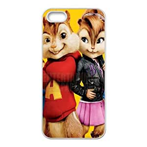 Alvin and the Chipmunks iPhone 5 5s Cell Phone Case White Q6850710