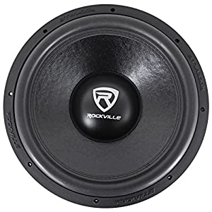 "Rockville W15K6D4 V2 15"" 4000w Car Audio Subwoofer Dual 4-Ohm Sub CEA Compliant"