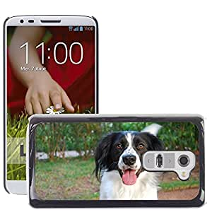 GoGoMobile Slim Protector Hard Shell Cover Case // M00118721 Dog Pet White Nero // LG G2 D800 D802 D802TA D803 VS980 LS980