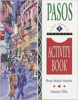 Pasos 1: Activity Book Vol 1