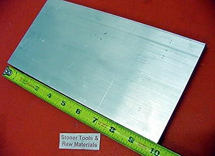 "2 Pieces 1//2/"" X 4/"" ALUMINUM 6061 T6511 FLAT BAR 8/"" long .500/"" Solid Mill Stock"