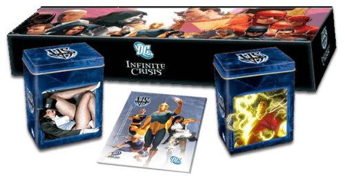 DC VS System Trading Card Game Infinite Crisis Collector Set