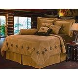 HiEnd Accents Luxury Star Western Bedding, King