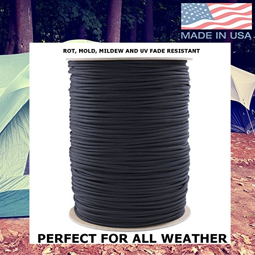 Paracord Planet 850 US Government Certified Paracord - Many Colors Available - 10', 25', 50', 100', 250', 1000' Lengths by PARACORD PLANET (Image #4)