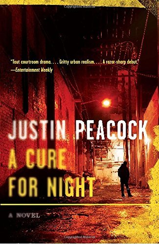 Justin Lizard - A Cure for Night: A Novel (Vintage Crime/Black Lizard) by Justin Peacock (2009-10-06)