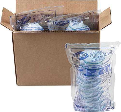 Clorox ToiletWand Disposable Toilet Cleaning Rainforest Rush Refill, 30 Count (Disposable Refill)