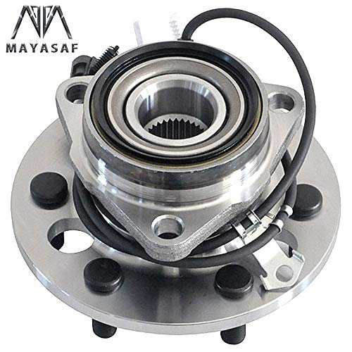 4WD, ABS PAIR 1995-1999 Front Wheel Hub Bearing Assembly for Chevrolet Tahoe