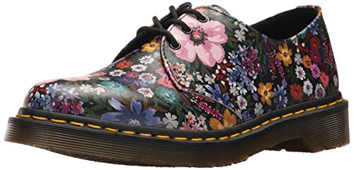 Dr. Martens Women's 1461 Wanderlust Oxford, Black Mallow, 4 Medium UK (6 US)