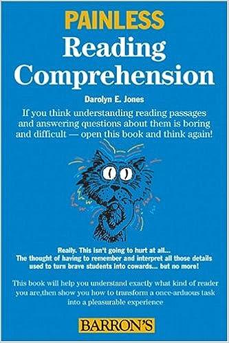 Amazon.com: Painless Reading Comprehension (Barron's Painless ...