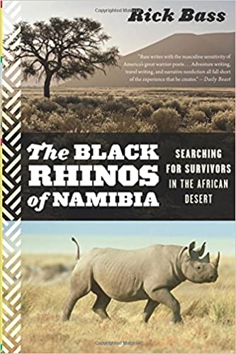 Book The Black Rhinos of Namibia: Searching for Survivors in the African Desert