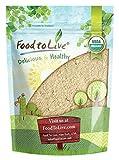 Food to Live Certified Organic Maca Powder (Gelatinized, Non-GMO, Kosher, Bulk)