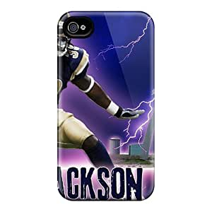 Best Cell-phone Hard Cover For Iphone 4/4s With Customized Trendy St. Louis Rams Series IanJoeyPatricia