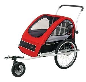Schwinn Mark II Bike Trailer (Red/Grey/Black)