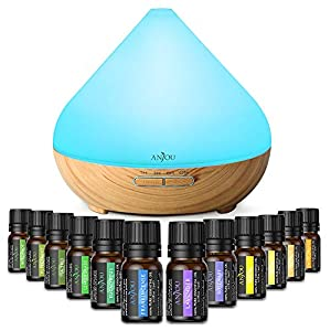 Anjou Aromatherapy Essential Oil Diffuser Gift Set, 13 Count 3