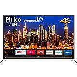 Smart TV Philco 4K 49' PTV49G50SN Com Função Netflix Bivolt