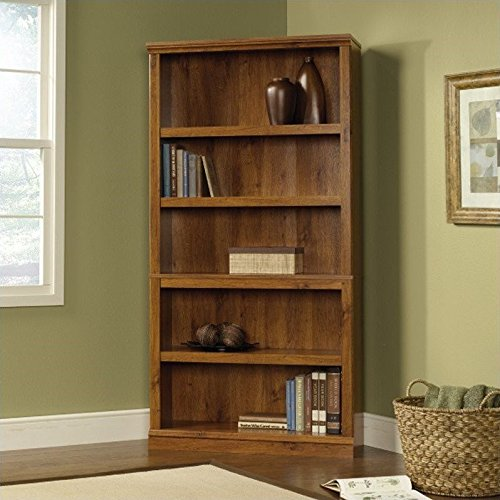 five-shelf-bookcase-in-abbey-oak-finish