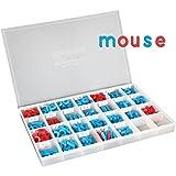 Really Good Stuff EZread Color-Coded Plastic Magnetic Letter Kit