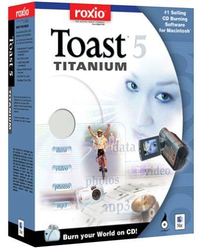 Toast 5.0 Titanium-10 Pack
