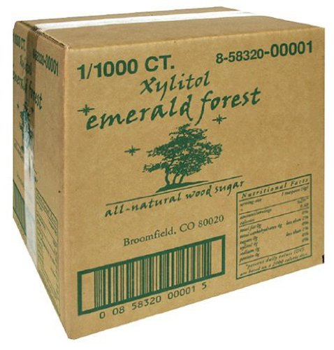Les paquets Xylitol, 1000-Count Box
