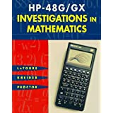 HP-48g/Gx Investigations in Mathematics [With Disk]
