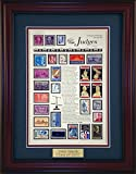Judges - Unique Framed Collectible (A Great Gift Idea) with Personalized Engraved Plate
