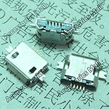 Cable Length: 20 pcs Cables 5-200 PCS V8 Shen Board 1.6MM 5-PIN Micro USB Jack Socket Connector DC Power Jack Micro USB Port Plug Socket U040M