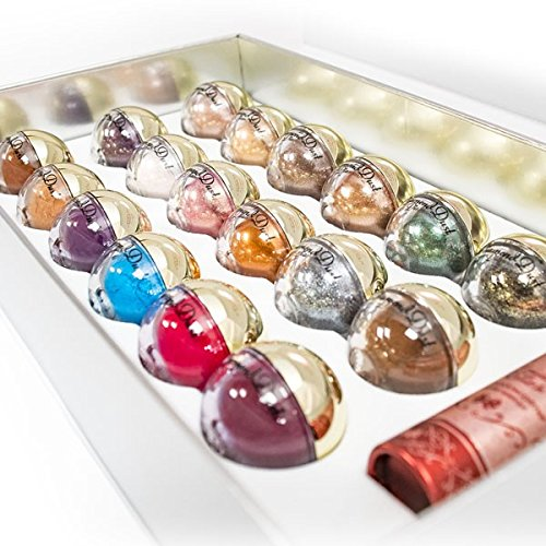 LA Splash Cosmetics Mineral Eyeshadow Loose Powder Glitter- DIAMOND DUST Gift Box Set by LA Splash