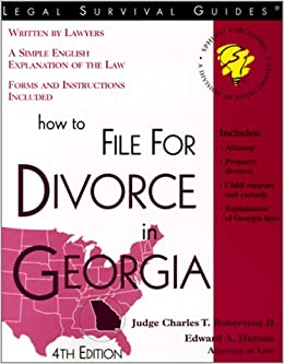 do it yourself divorce georgia
